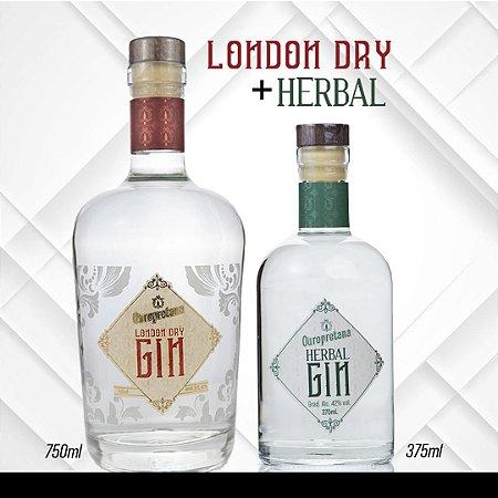 KIT - Gin Old Tom 375ml + Gin London Dry 750ml