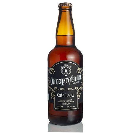 Cerveja Ouropretana Café Lager 500ml