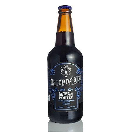 Cerveja Ouropretana Amburana Brown Porter 500ml