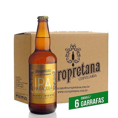 Caixa c/ 6 unidades - Ouropretana IPA Maracujá500ml