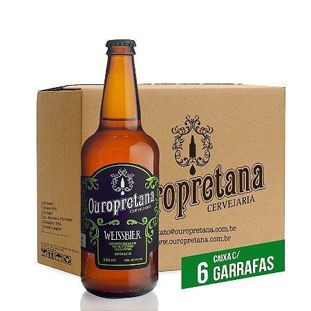 Caixa c/ 6 unidades - Ouropretana Weissbier500ml
