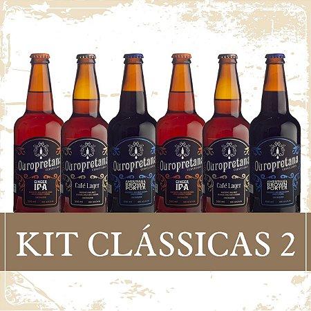 Kit Clássicas 2 - Caixa c/ 6 unidades