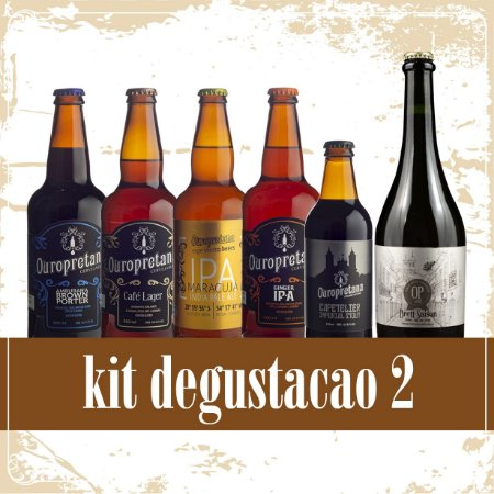 Kit Degustação 2 - Caixa c/ 6 unidades