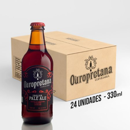 Caixa c/ 24 unidades - Ouropretana English Pale Ale  330ml