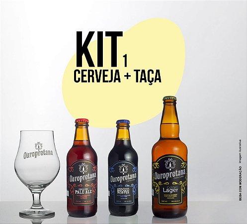 Kit 1 Ouropretana + Taça