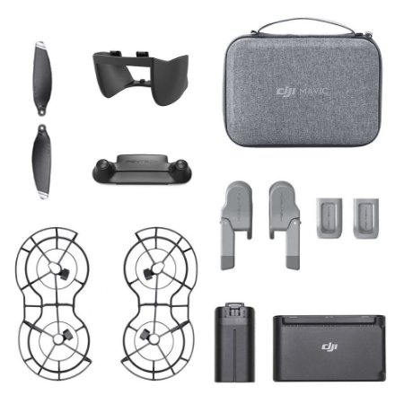 Kit 7 Acessórios para Drone DJI Mavic Mini + Bateria