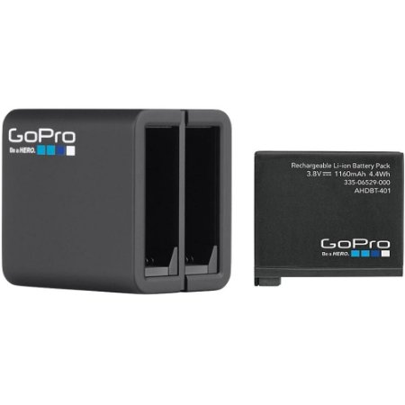 Carregador Duplo GoPro Hero 5, 6 e 7 Black