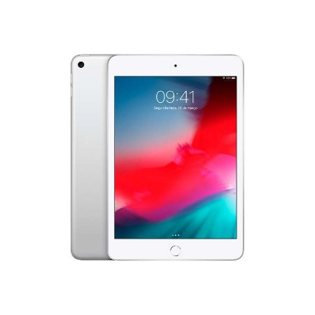 iPad Mini 4 Wi-Fi 128GB Cor: Prateado