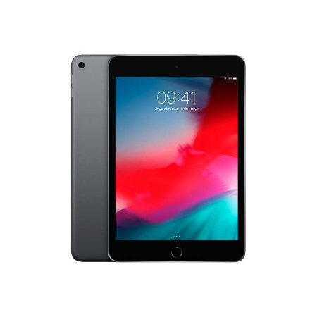 iPad Mini 7.9'' wifi 64GB (2019) Cor:Cinza Espacial