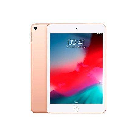 iPad Mini 7.9'' wifi+4G 64GB (2019) Cor:Dourado