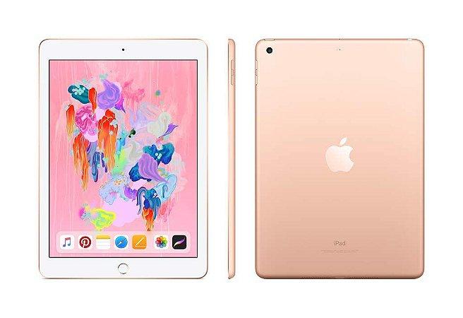 iPad 6 geracao 128gb wifi ( 2018 ) Cor:Dourado