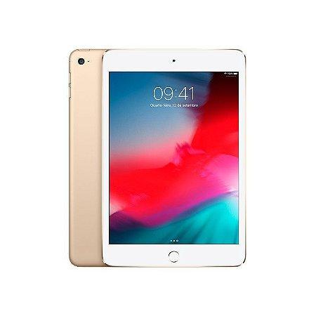 iPad Mini 4 128gb Wifi + 4G Cor: Dourado