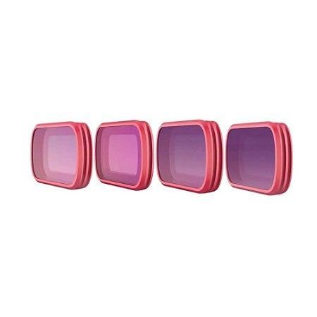 Filtro Pgytech para Osmo Pocket - Set ND (ND8, 16, 32 e 64)