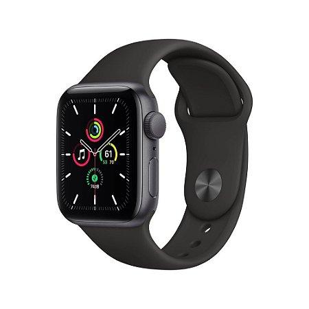 Apple Watch SE  GPS 40mm Alumínio Cinza Espacial - Pulseira Preta