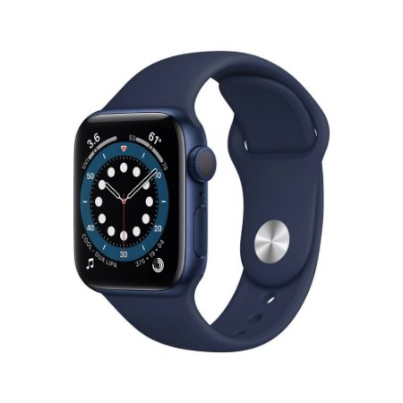 Apple Watch Series 6 GPS 40mm Alumínio Azul Deep Navy