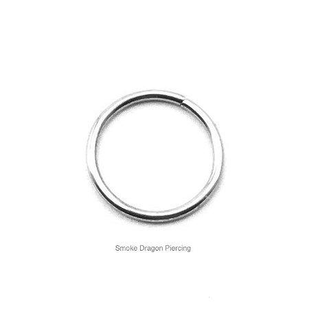 Piercing - Argola Nariz - Aço Cirúrgico - Espessura 0.8 mm