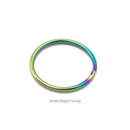 Piercing - Argola Nariz - Aço Cirúrgico -Colorida