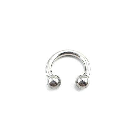 Piercing - Ferradura  - Aço Cirúrgico - Espessura 3.0 mm