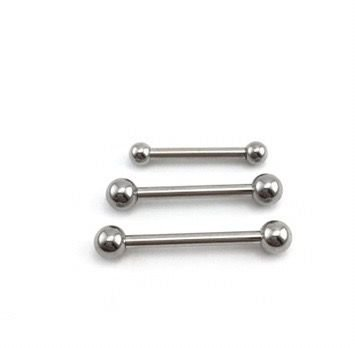 Piercing - Microbell Reto - Aço Cirúrgico - Espessura 1.6 mm