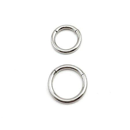Piercing - Argola - Segmentada - Aço Cirúrgico - Espessura 1.6 mm