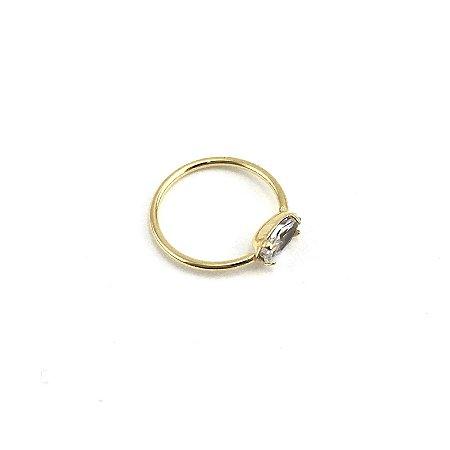 Piercing/Aço/Banhado/Strass/0.6mm