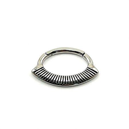Piercing/Aço/Daith/Septo/Clicker/Espessura 1.2 mm