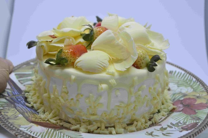 Bolo Torta de Morango