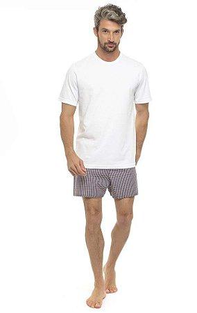 Pijama masculino curto Luiz