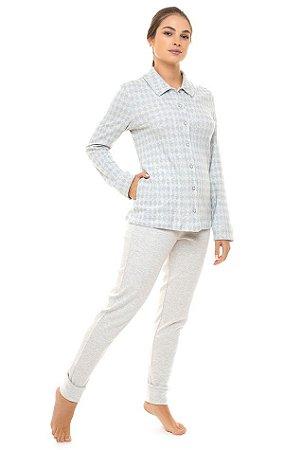 Pijama Poliana Abotoado
