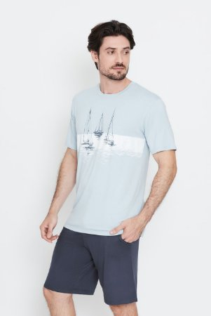 Pijama masculino Portimão curto