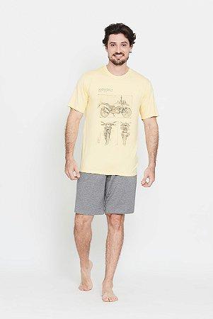 Pijama Masculino Funchal curto