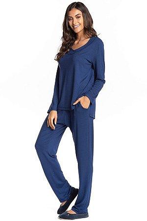 Pijama Vera Longo Fechado