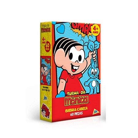 Jogo Quebra Cabeça Turma da Mônica (Mônica) 60Peças - Toyster