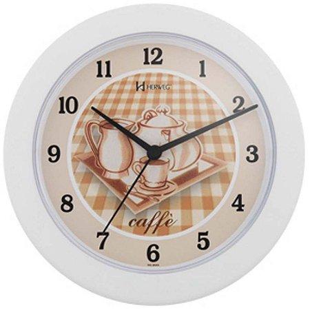 Relógio de Parede Branco Fosco - Plasmotécnica
