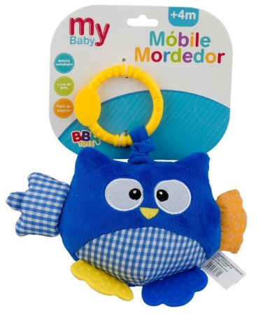 Mobile Mordedor My Baby - Bbr Toys