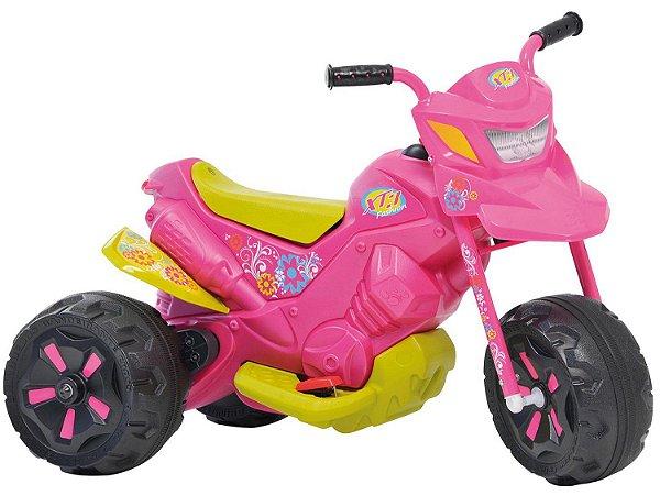 Moto Elétrica Infantil XT3 Fashion 2 Marchas Bandeirante