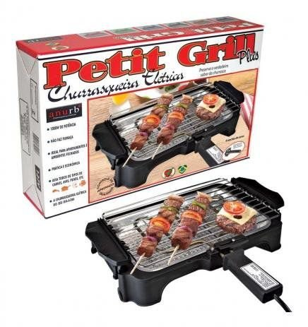 Churrasqueira Elétrica Anurb Petit Grill Plus Preta 127V