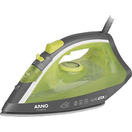 Ferro de Passar Vapor Spray Arno Ecogliss FEC1 com Base de Cerâmica Verde 127V