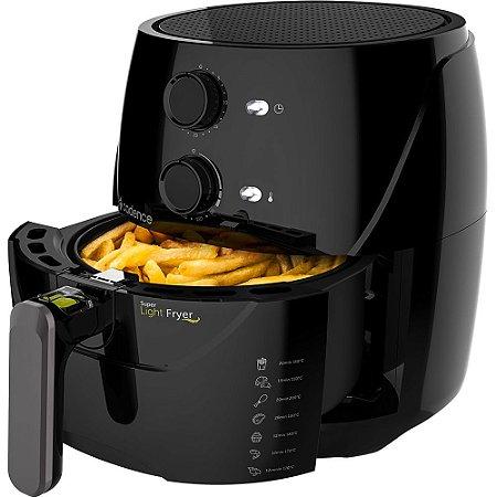 Fritadeira Sem Óleo Super Light Fryer 3,2l Cadence - Frt550-127v