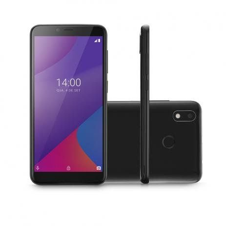 Smartphone Multilaser G Max 4G 32GB Tela 6.0 Pol. Octa Core Android 9.0 GO Preto