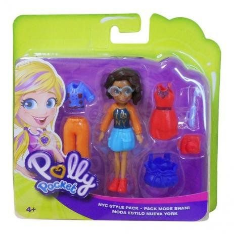 Boneca Polly Pocket-Conjunto Fashion Mattel GDM03