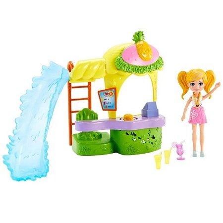 Conjunto Polly Pocket Quiosque Parque De Abacaxi Mattel