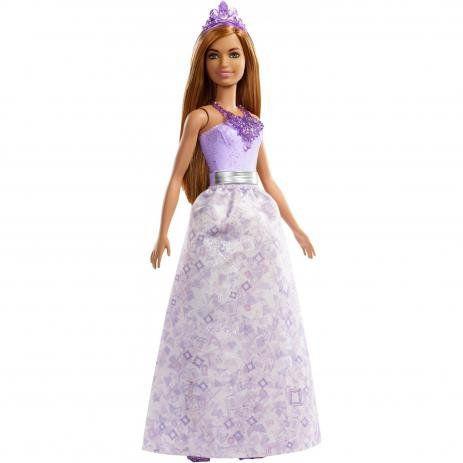 Boneca Barbie Dreamtopia Princesa Morena Mattel