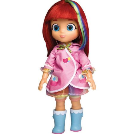 Boneca Rainbow Ruby Grande Com Capa