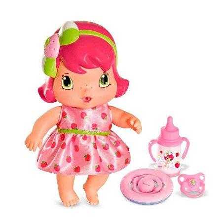 Boneca Moranguinho Baby Com Acessórios - Mimo