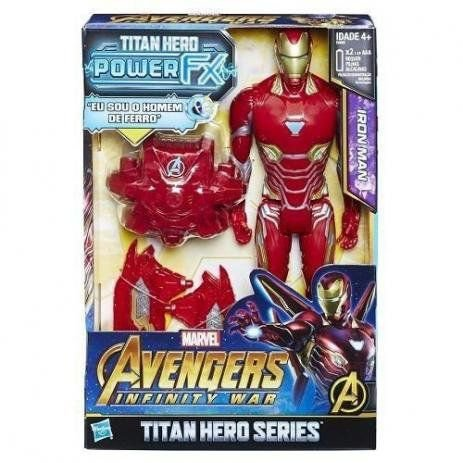 Boneco Avengers Power Pack Homem De Ferro Hasbro