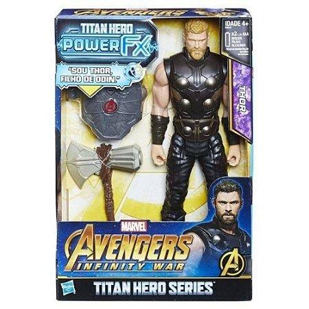 Boneco Avengers Power PACK THOR Hasbro