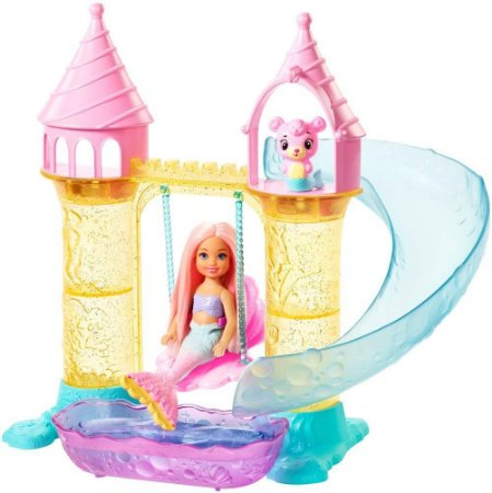 Barbie Dreamtopia Parque Aquático Das Sereias Mattel