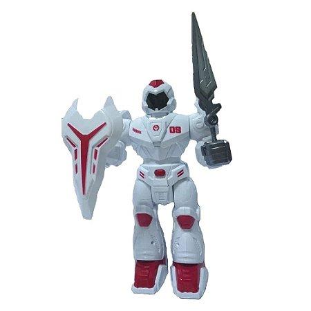 Robô com Luz e Som Robots BBR R2939
