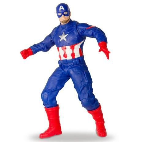 Boneco Capitao America - Revolution MIMO - Marvel